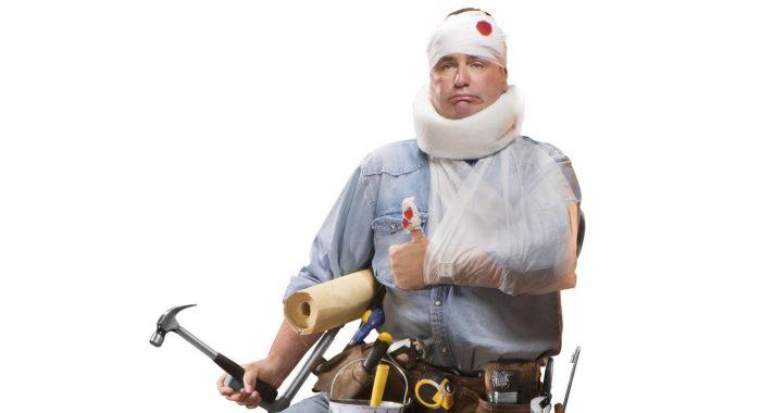 Alles Gute kommt von oben – inklusive Ziegelsteine! Ein Fall für die Unfallversicherung?