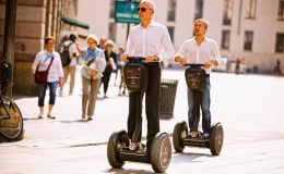Fortbewegungsmittel der Zukunft: Versicherung von Segways, E-Bikes und Co.