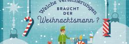 Teaser-Bild Weihnachtsmann Versicherungen
