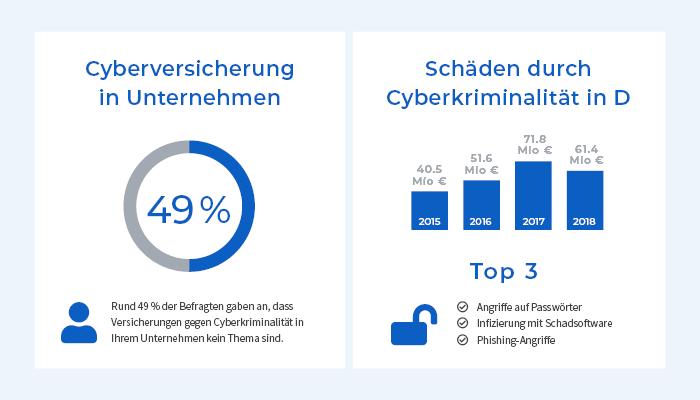 Cyberkriminalität und Schäden