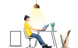 home office umfrage vertraut chef mitarbeiter
