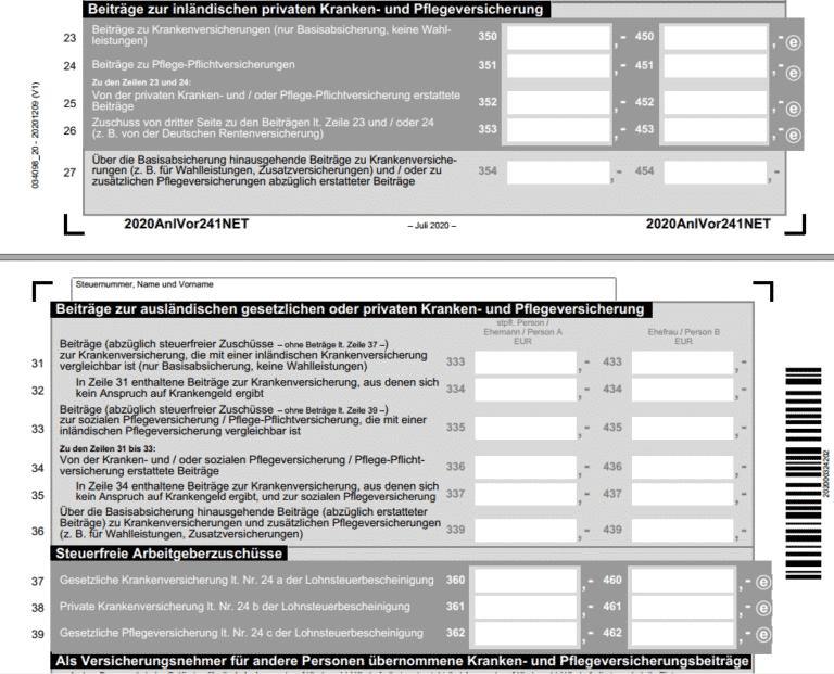 PKV in der Steuer | Richtig absetzen & sparen (2021)